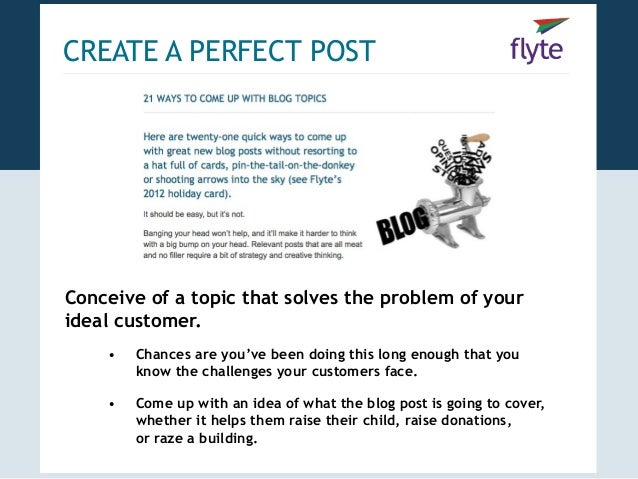 Blogging blueprint how to create promote the perfect post 3 create a perfect postconceive malvernweather Images