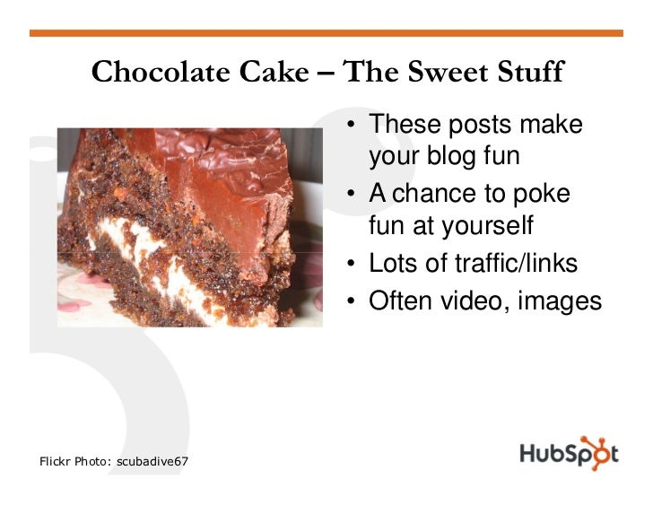 Chocolate Cake – The Sweet Stuff                             • These posts make                               your blog fu...