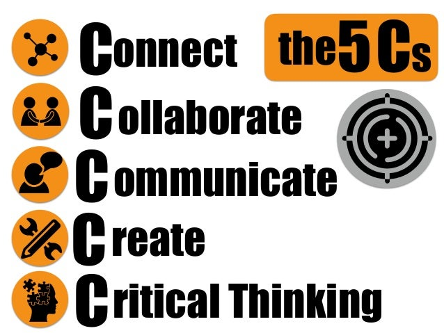 Cs5 ritical Thinking onnectC reate the C C C C ommunicate ollaborate