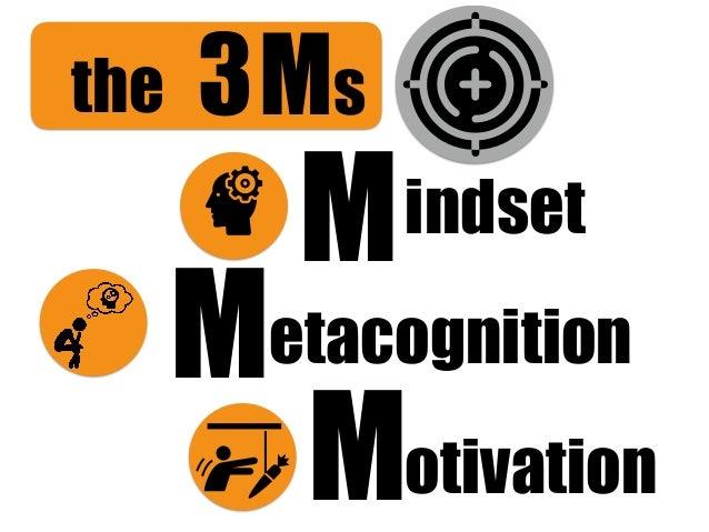Ms3 Motivation Metacognition Mindset the
