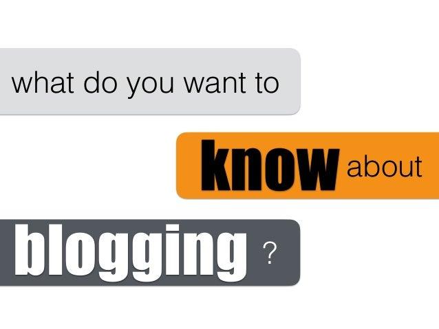 Blogging as Pedagogy  Slide 3