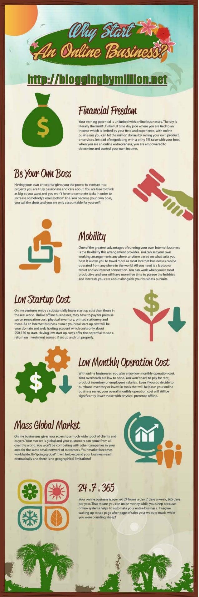 Bloggingbymillion | Why start an online business
