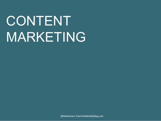 Blogging For Business 101 Slide 3