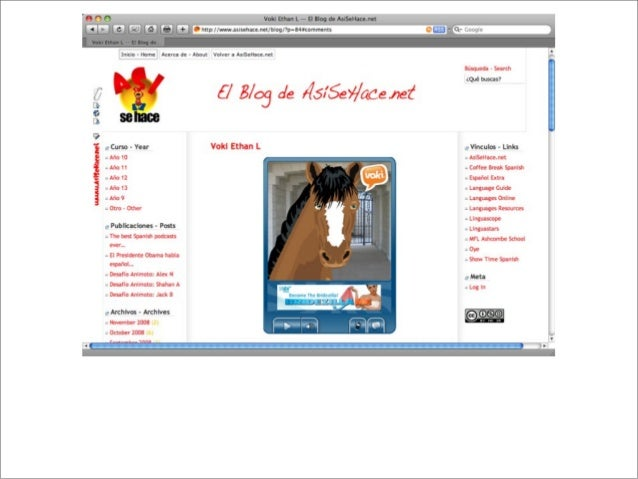 http://www.voki.com Showcasing your students' work (to a worldwide audience)