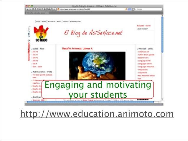 Promoting target language use