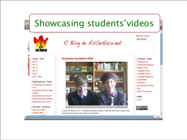 Sharing student resources