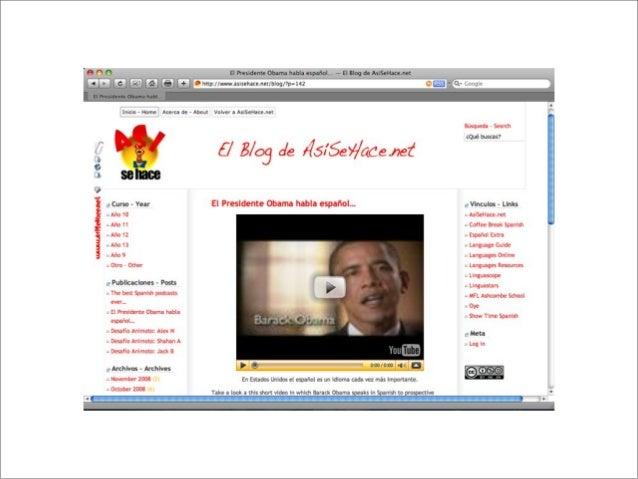 What blogging platform? http://wordpress.com http://wordpress.org http://edublogs.org http://www.blogger.com (self hosted)