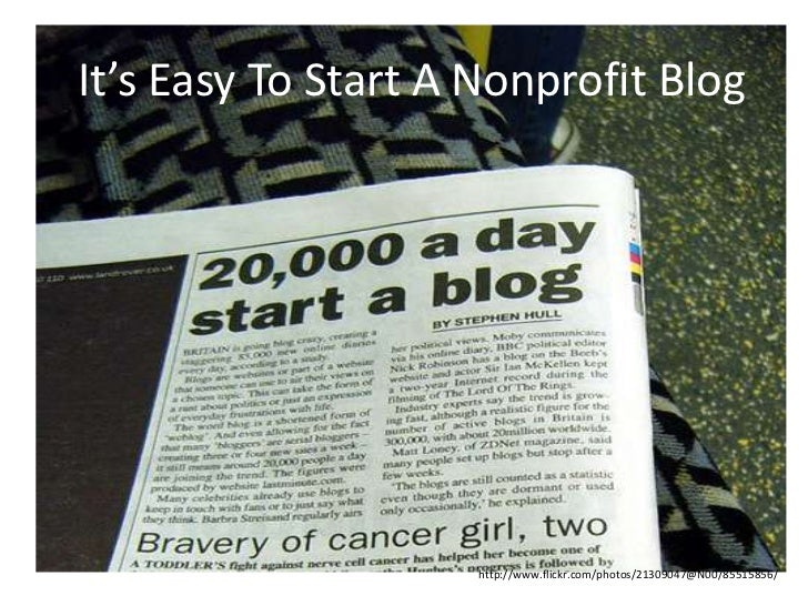 Blogging is a Strategy Slide 2