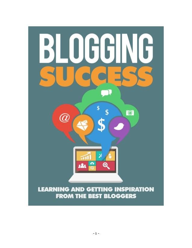 blogging success 1 638