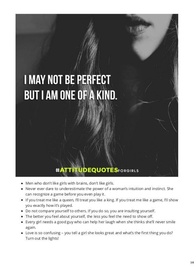 Best Attitude Quotes For Girls Attitude Quotes Images For Girl