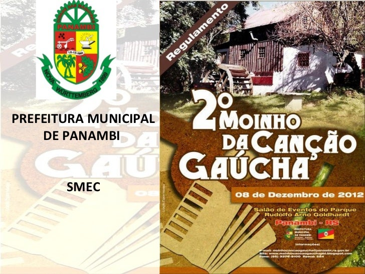 PREFEITURA MUNICIPAL    DE PANAMBI       SMEC