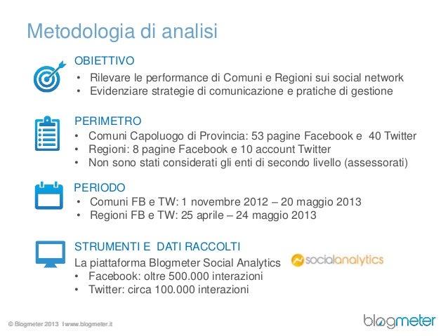 Blogmeter: Social PA - Forum PA 2013 Slide 2
