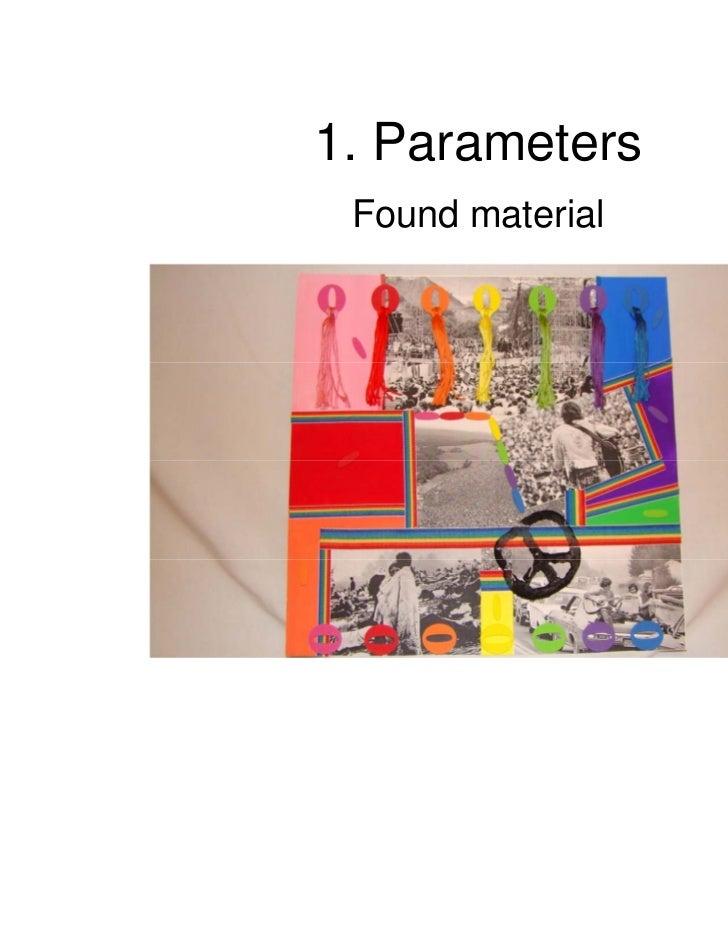 1. Parameters Found material