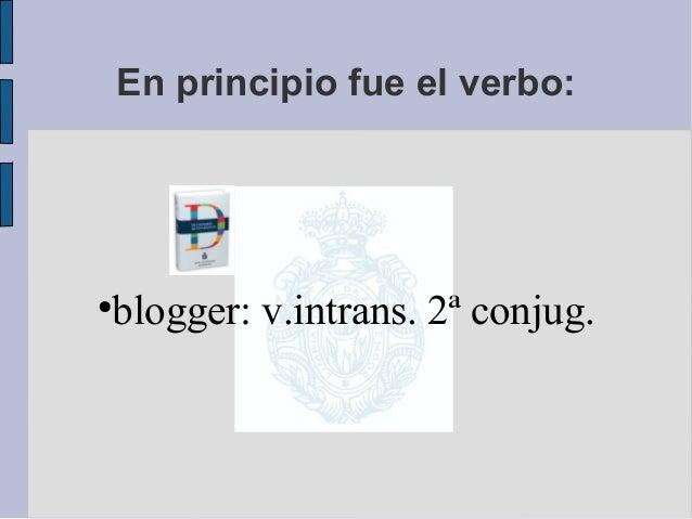 La blogobiografia como género Slide 2