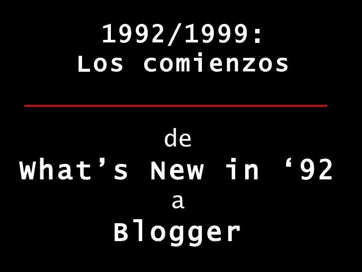 Blogosfera Hispana: La Desmitificacion Slide 2