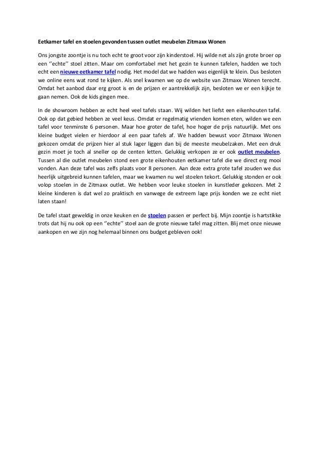 Grote Tafel Met 6 Stoelen.Blog Outlet Meubelen Eetkamer Tafel Article3 3 6 13