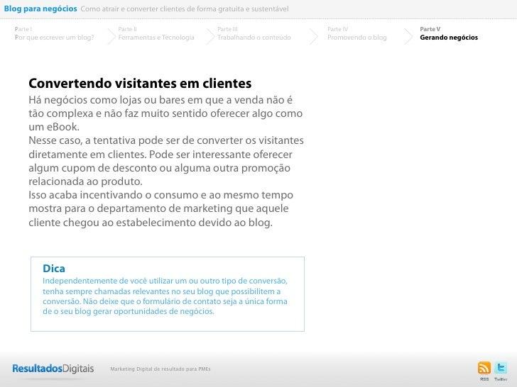 Blog para negócios Como atrair e converter clientes de forma gratuita e sustentável   Parte I                        Parte...