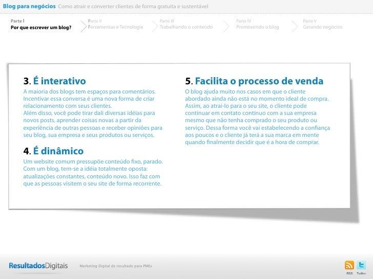 Blog para negócios Como atrair e converter clientes de forma gratuita e sustentável   Parte I                         Part...