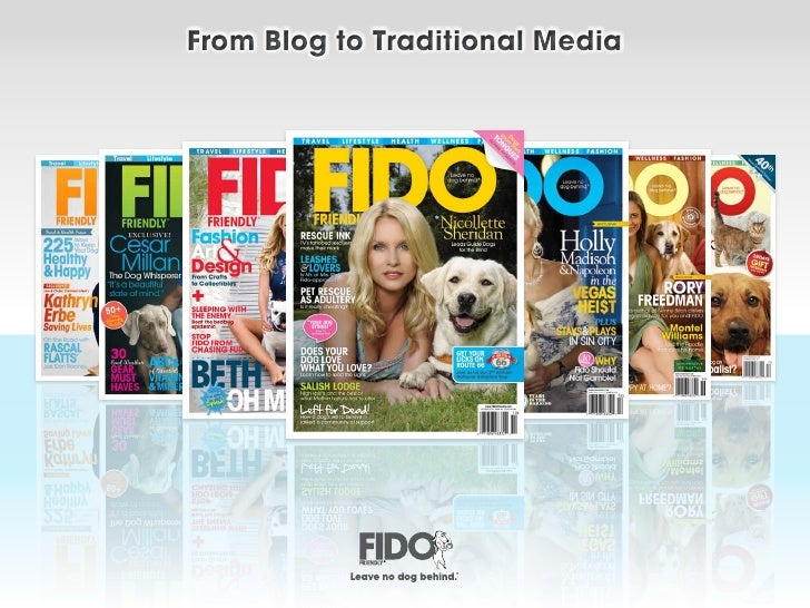 From Blog to Traditional Media