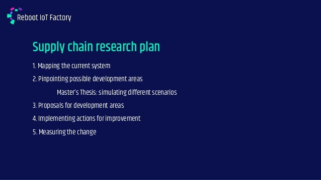 Tech Review: Supply Chain Modeling - Case Ponsse Slide 2