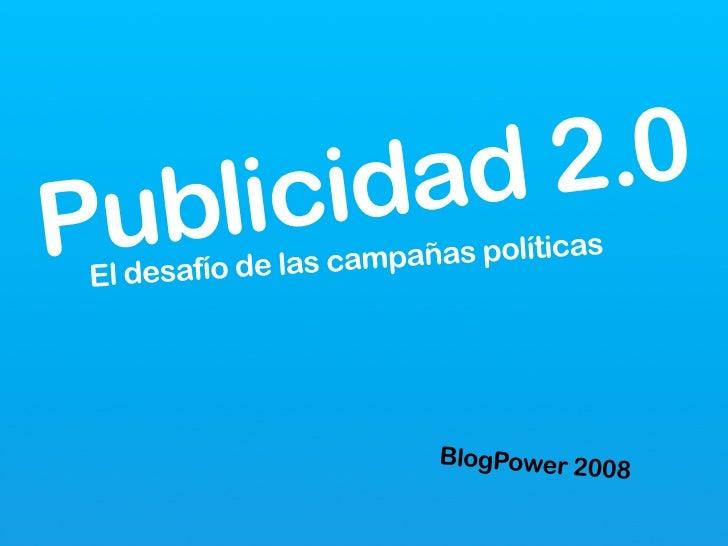 .0            2         ad      cid    li  ub P                         s políticas                las campaña  El desafío...