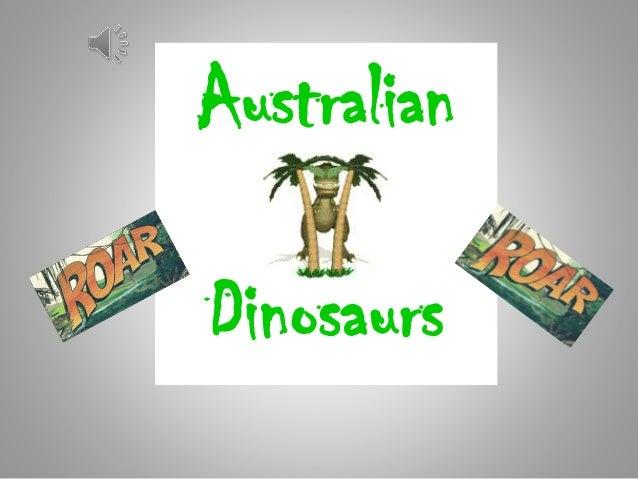Australian Dinosaurs