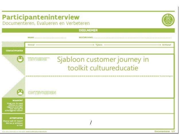/ Sjabloon customer journey in toolkit cultuureducatie