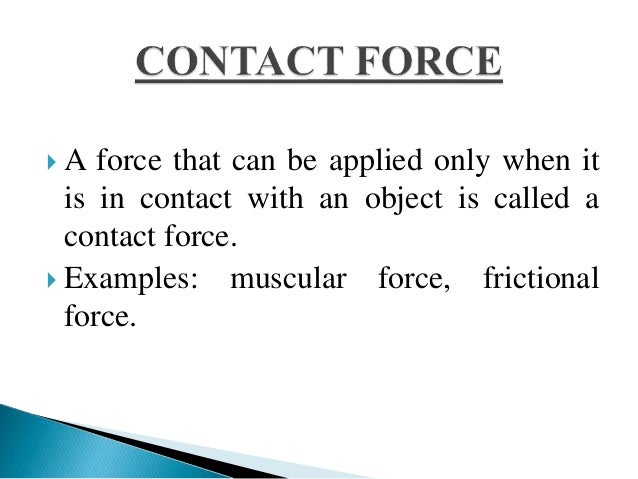 Balanced Net Force Examples