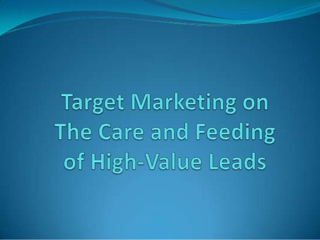 Every lead is important, but in campaigns target at high-value leads, the risk associated with losing a sale is much great...