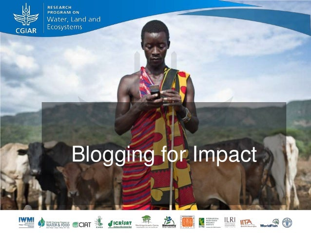 Blogging for Impact