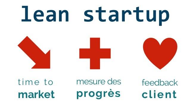 feedback client time to market mesure des progrès lean startup