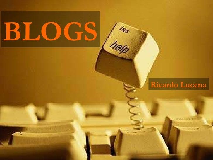 BLOGS Ricardo Lucena