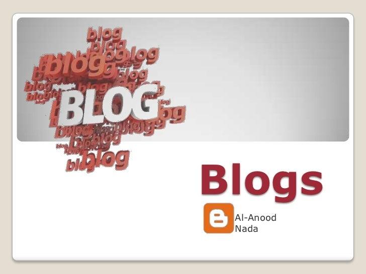 Blogs Al-Anood Nada