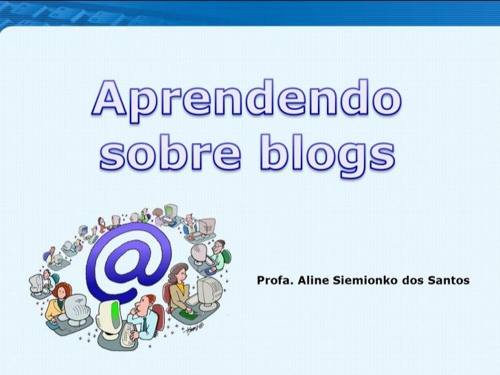 Profa. Aline Siemionko dos Santos