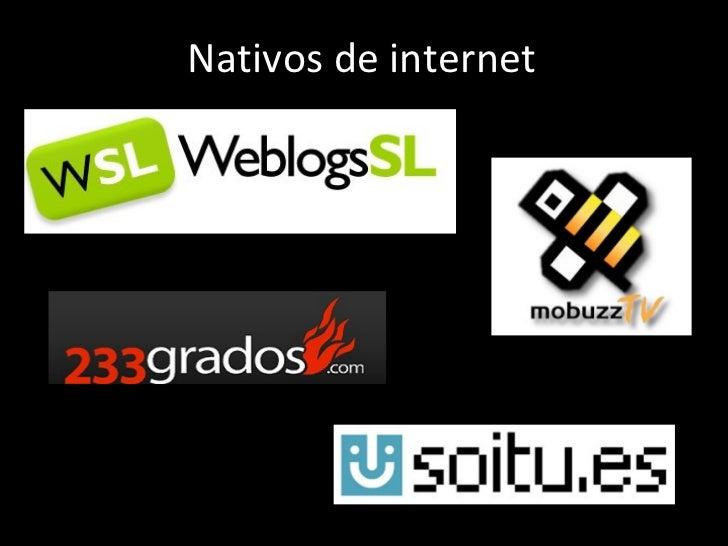 Los  Nativos de internet