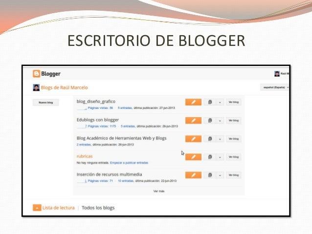 VISIÓN GENERAL En la pestaña Visión general, puedes ver la actividad de tu blog, las novedades y sugerencias del equipo de...