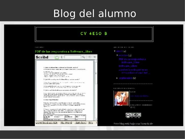 Blog del alumno