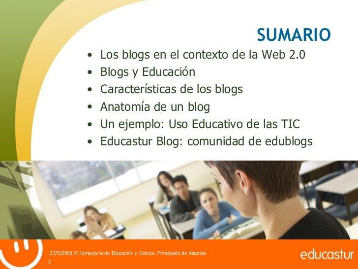 Blogs y Educación Slide 2