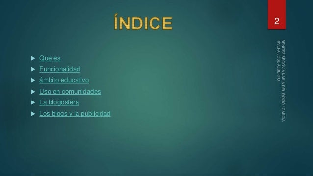 Blogs (1) Slide 2