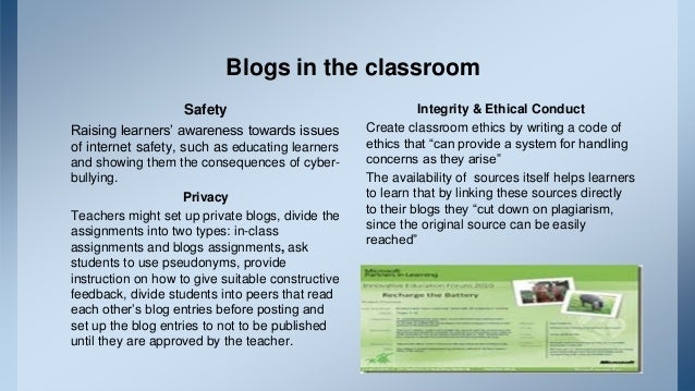 Blogs In English Language Teacher Education Programs