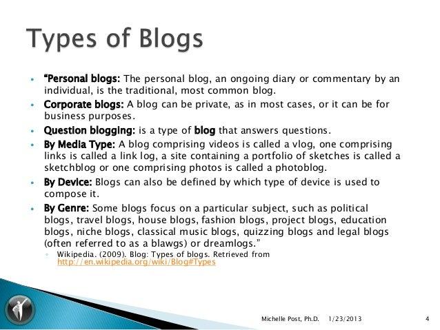 esl how to write a blog entry