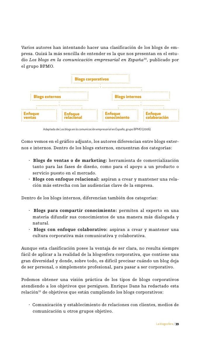 · Posicionamiento de la organización o de ciertos individuos pertene-        cientes a ella como expertos en campos de act...