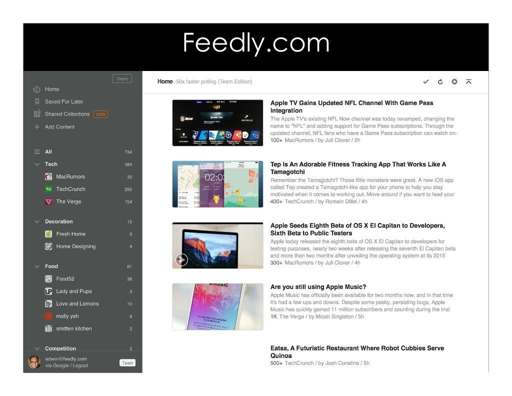 Feedly Com
