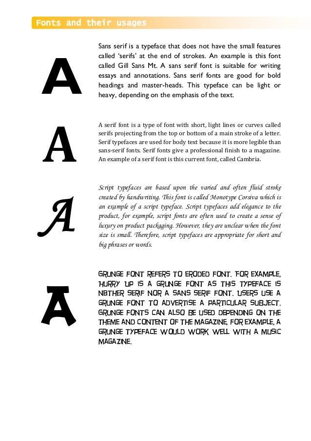 Media Studies - school magazine project