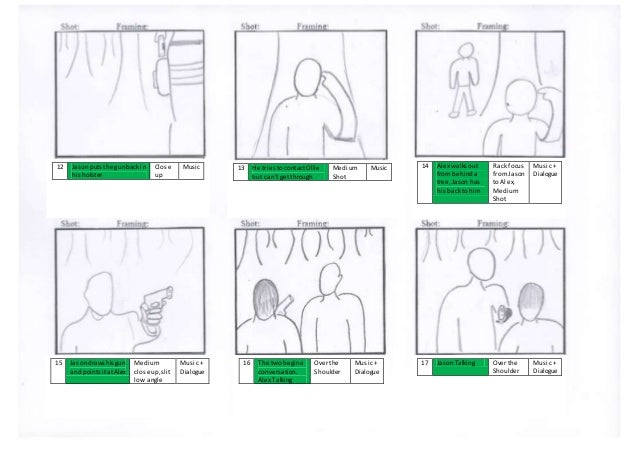 Short Film Storyboard
