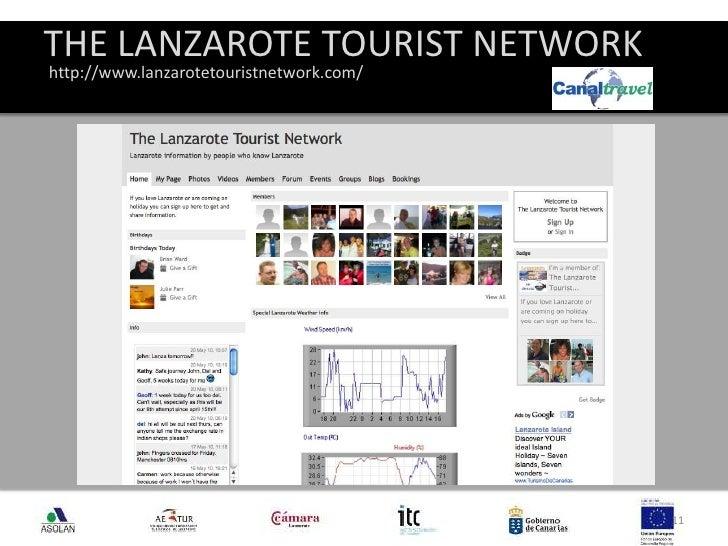 THE LANZAROTE TOURIST NETWORK<br />11<br />http://www.lanzarotetouristnetwork.com/<br />