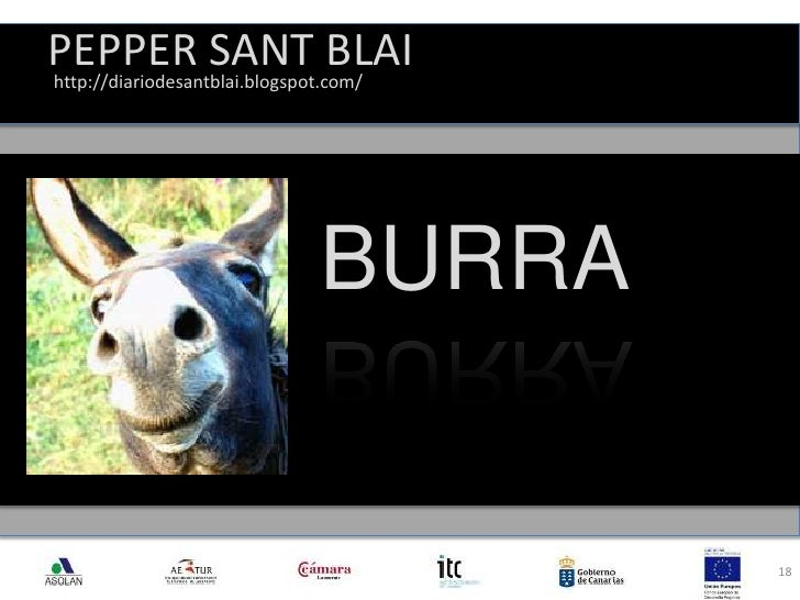 PEPPER SANT BLAI<br />18<br />http://diariodesantblai.blogspot.com/<br />BURRA<br />