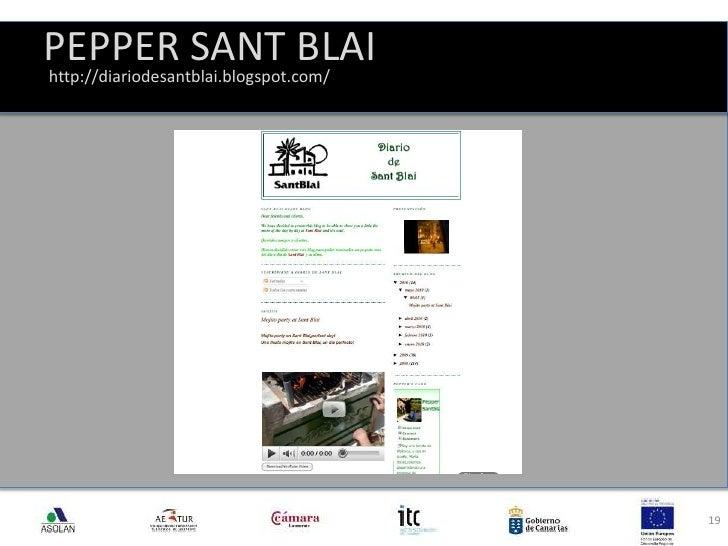 PEPPER SANT BLAI<br />19<br />http://diariodesantblai.blogspot.com/<br />