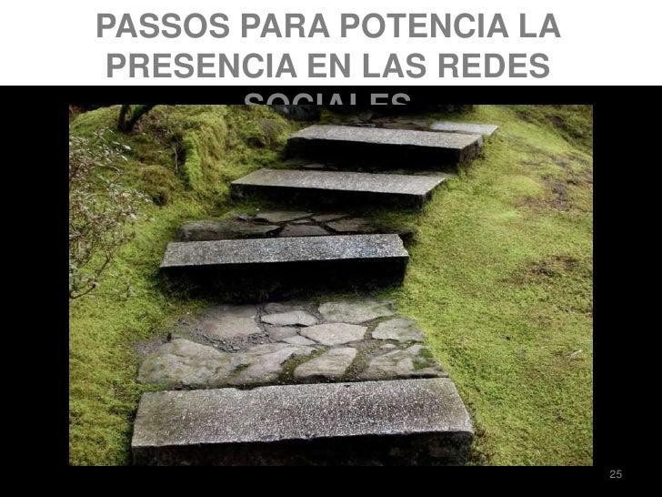 PASSOS PARA POTENCIA LA PRESENCIA EN LAS REDES SOCIALES<br />25<br />