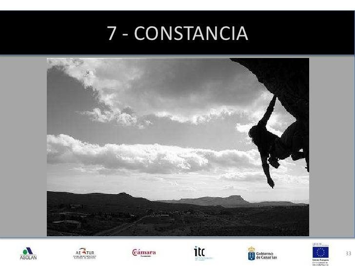 7 - CONSTANCIA<br />33<br />